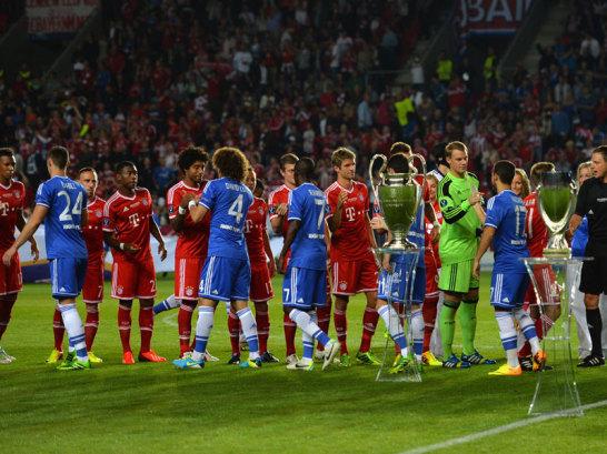 Bayern und Chelsea vor dem Spiel