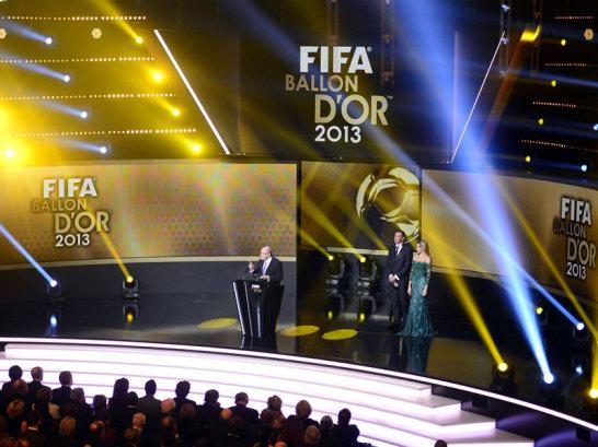 Blatter soricht