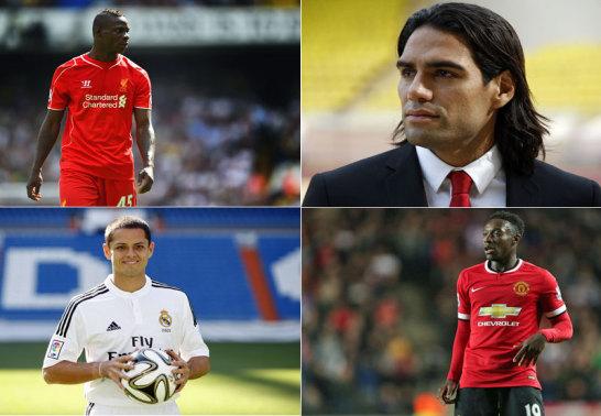 Balotelli, Falcao, Chicharito und Welbeck