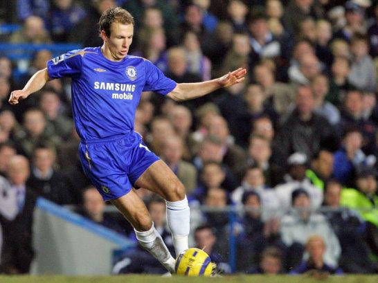 Robben im Chelsea-Trikot