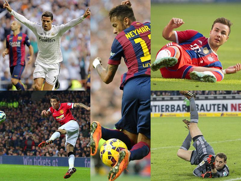 Wer wird Weltfußballer 2014?
