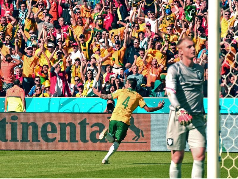 Tim Cahill, 18. Juni 2014, Australia - Niederlande, WM 2014