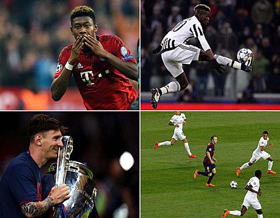 Über sieben Millionen Stimmen gingen auf uefa.com ein, jetzt steht das UEFA-Team des Jahres fest: Champions-League-Sieger FC Barcelona dominiert, doch auch zwei Bayern-Profis schafften den Sprung - David Alaba mit einem besonders dicken Ausrufezeichen.