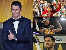 So viel verdienen CR7, Messi, Djokovic, Bryant und Co.
