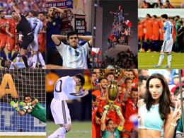 Spektakel, Plexiglas, Messi-Drama: Die Hingucker der Copa
