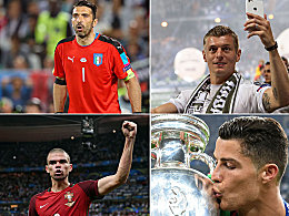 Europas Fu�baller des Jahres: Drei Deutsche dabei