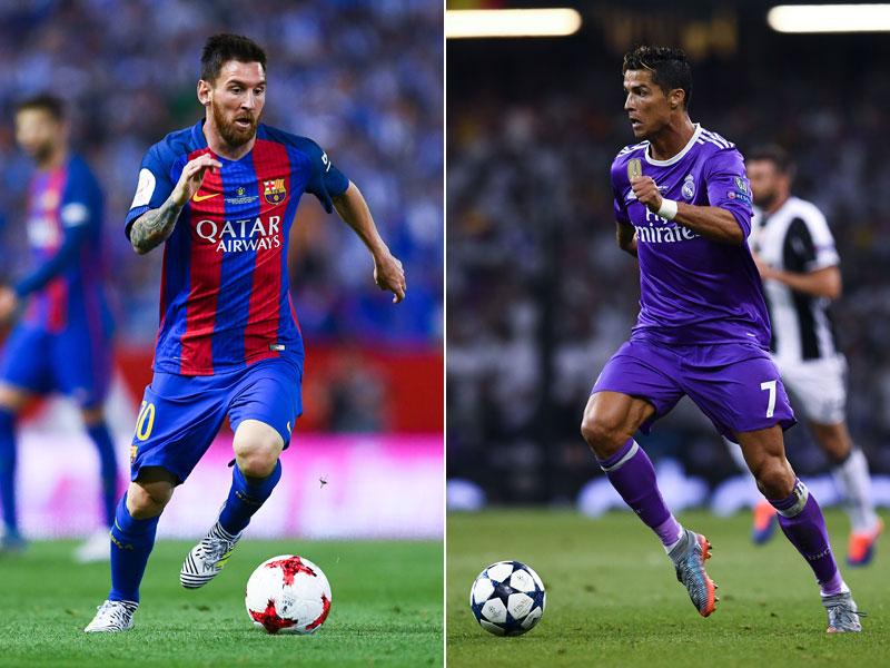 Duell der Giganten: Messi und