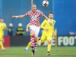 Kroatien müht sich gegen Kosovo