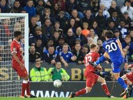 Dank Okazaki: Leicester kegelt Reds raus