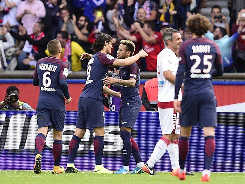 Ohne Gewalt und Pöbeln löst Cavani das Neymar-Problem