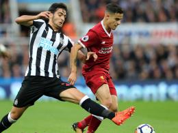 Joselu kontert Coutinho: Liverpool nur mit Remis