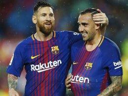 Barça siegt dank Alcacers Doppelpack