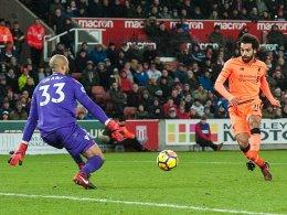 Salah hat einen Lauf, Liverpool drei Punkte