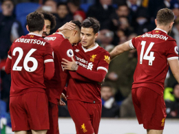 5:1 - Liverpool stürmt Brightons Festung