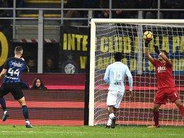 Kein Sieger zwischen Inter und Lazio