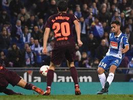 Joker Melendo sticht! Espanyol überrascht Barça