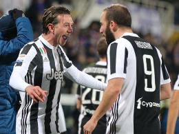 Juve siegt in Florenz - Bernardeschi trifft bei der Rückkehr