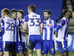 Grigg's on fire: Wigan besiegt ManCity