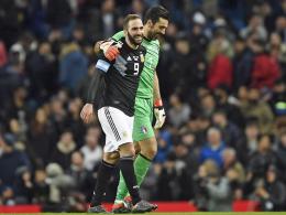 Banega und Lanzini überwinden Rückkehrer Buffon