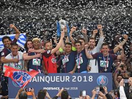 Ohne Glanz: Paris zum zwölften Mal Pokalsieger