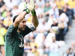 Buffons letztes Spiel für Juve