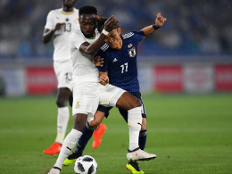 0:2 - Japan verpatzt Ghana-Test