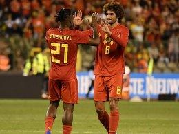 Batshuayi legt auf: Belgien besiegt Ägypten mit 3:0