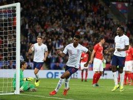 Rashford bringt schwaches England in die Spur