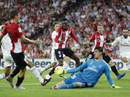 Erster Rückschlag für Lopetegui - Bilbao trotzt Real erneut