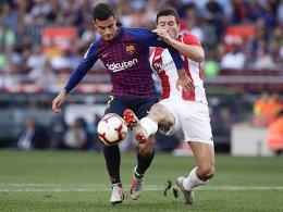 1:1 im Camp Nou - Barça mit historischem Punktverlust