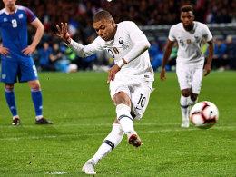 Dank Mbappé: Frankreichs Blitz-Comeback gegen Island