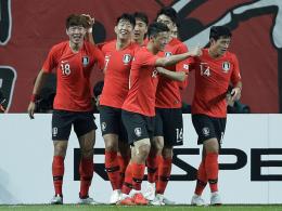 Son und Hwang glänzen für Südkorea als Vorbereiter