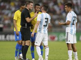 1:0 gegen Argentinien: Miranda erlöst Brasilien spät
