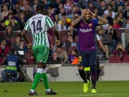 4:3: Real Betis düpiert Barça und ter Stegen