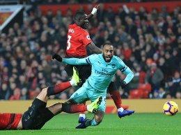 2:2 - Arsenals Serien halten, United tritt auf der Stelle