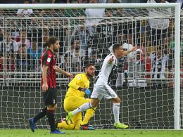 Cristiano Ronaldo beschert Juve die Supercoppa