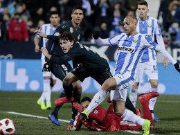 Trotz Niederlage: Real im Viertelfinale der Copa