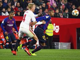 0:2 in Sevilla - Barça unterliegt bei Boatengs Debüt