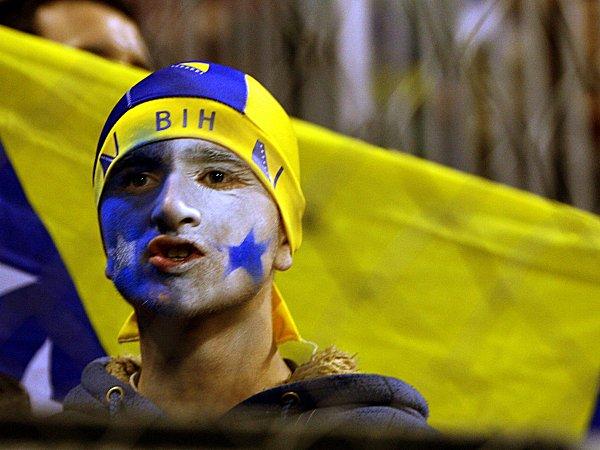 Bosnischer Fan