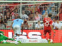 Müller erzielt nervenstark den 1:1-Ausgleich.