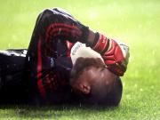 Dida, brasilianischer Torhüter des AC Milan in Glasgow.