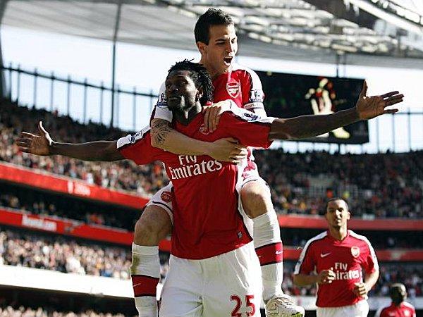 Arsenal London: Emmanuel Adebayor