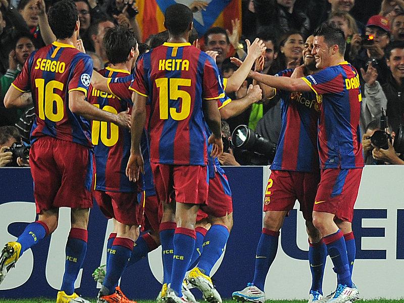 Hinten mit Unsicherheiten, aber vorne höchst effektiv: Barcelona kann schon für das Halbfinale planen.