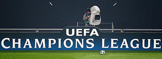 Kameramann in der Champions League