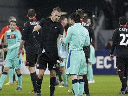 Michal Kadlec und Lionel Messi