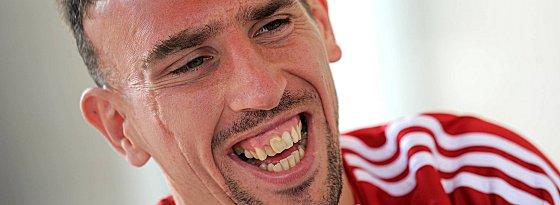 2010 fehlte er im Finale gesperrt - am Samstag in München will sich Franck Ribery einen großen Traum erfüllen.