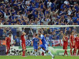 Chelsea jubelt, Bayern trauert