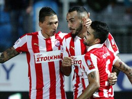 Holebas, Mitroglou und Machado