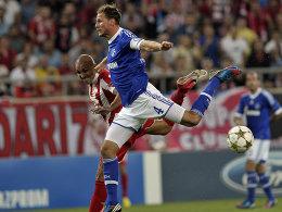 Benedikt Höwedes brachte die Schalker in Front.