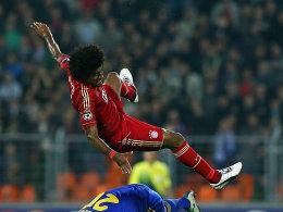 Dante und der FC Bayern in Schieflage in Minsk.